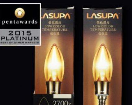 LASUPA日本LED蜡烛灯包装