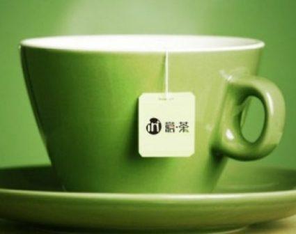 in+意茶LOGO设计