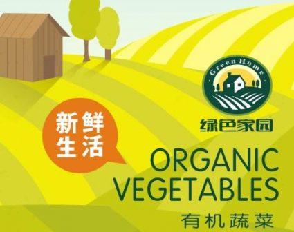 绿色家园蔬菜品牌展示