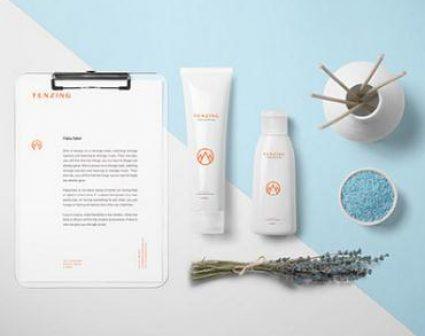 TENZING化妆品/SPA革新品牌设计