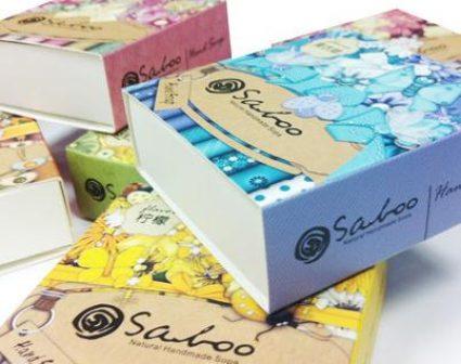 泰国SALOO香皂包装设计