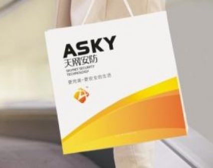 天网安防SUNKY品牌设计