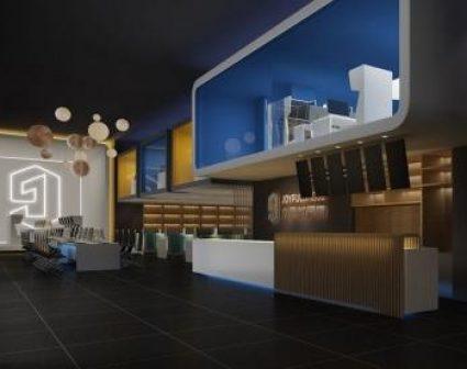 九色虹网咖品牌vi设计
