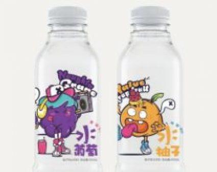 水果口味蒸馏水包装设计