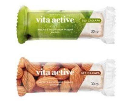 vita active口味果酱条包装设计