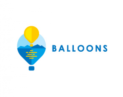 Balloons热气球公司标志设计