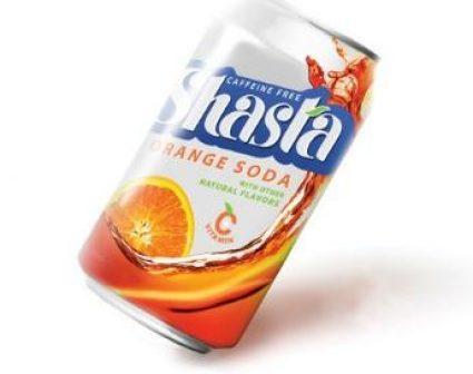 shasha orange SODA包装设计