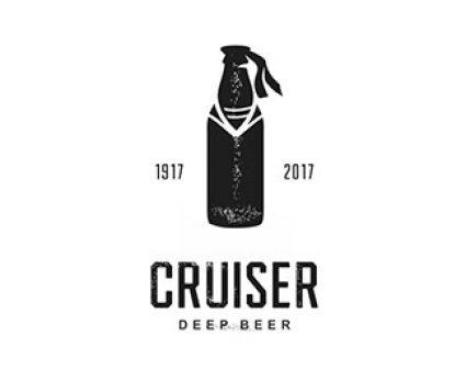 Cruiser瓶子logo设计