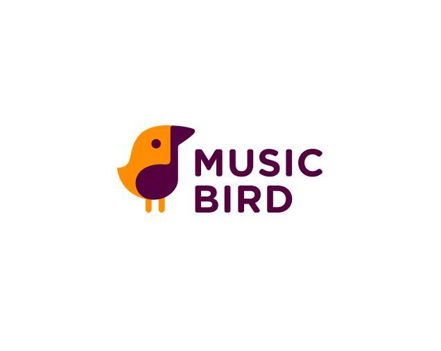 MUSIC BIRD标志设计