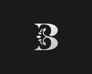 B字母标志设计