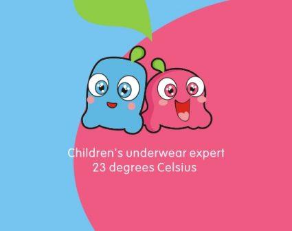 23度C童装服饰品牌设计