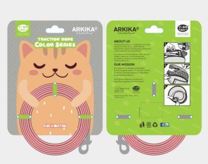 ARKIKA猫狗物语牵绳包装设计