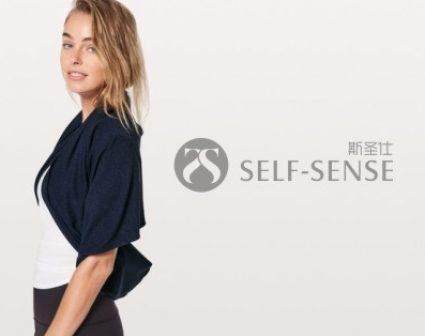 SELF-SENSE瑜伽服标志设计