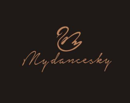 dancesky儿童品牌标志设计