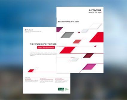 日立企业画册设计