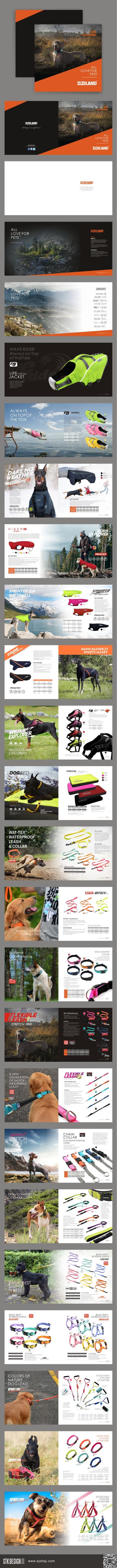 ZOOLAND宠物户外用品画册设计