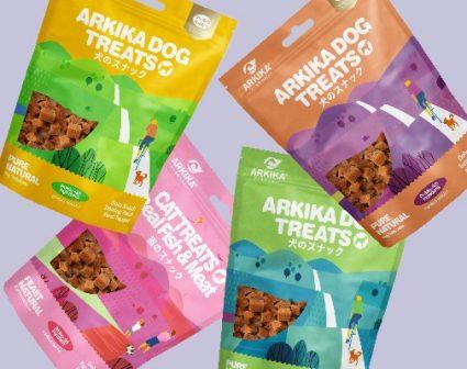 arkiak宠物零食包装设计