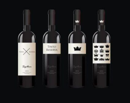 sigillum品牌葡萄艺术酒标设计欣赏