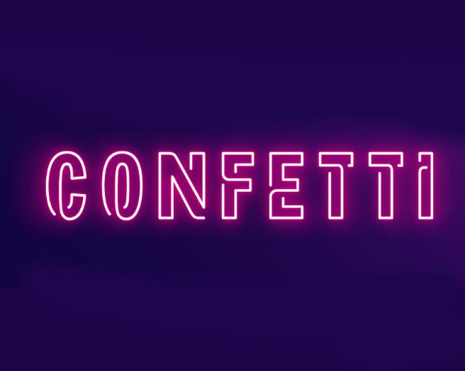 Facebook Confetti LOGO设计