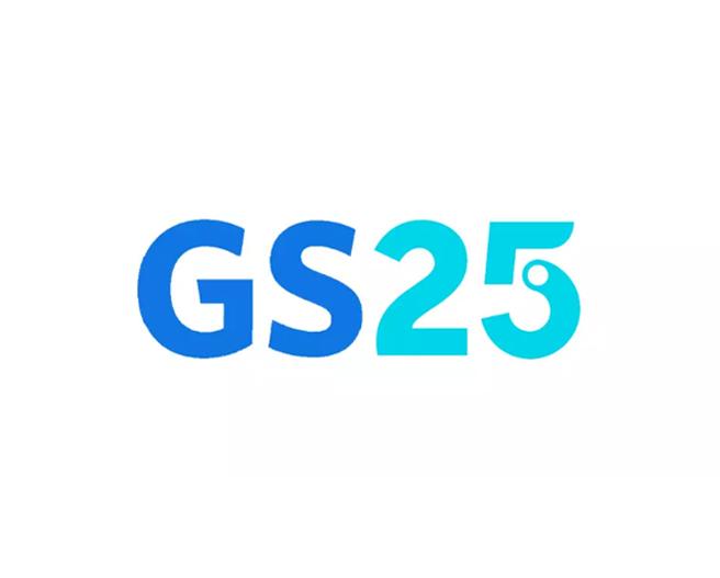便利商店GS25 LOGO设计