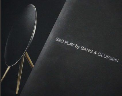 B&OPLAY音响画册设计
