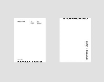 MONAJANS工作室品牌设计
