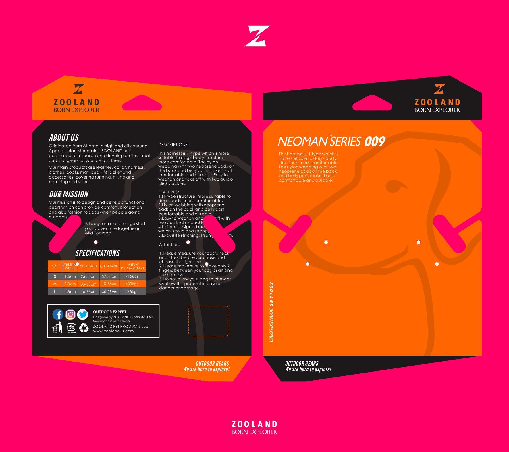 zooland背卡包装设计