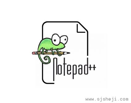 文本编辑器Notepad++LOGO