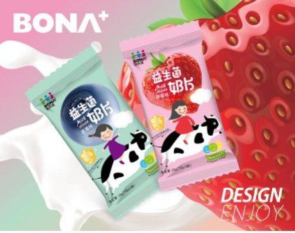 益生菌BONA+包装设计