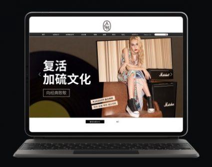 ASH潮流服饰网站设计