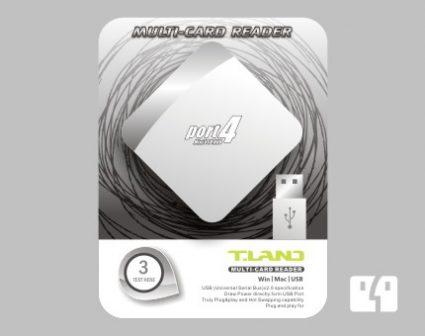 数码产品转换线包装设计