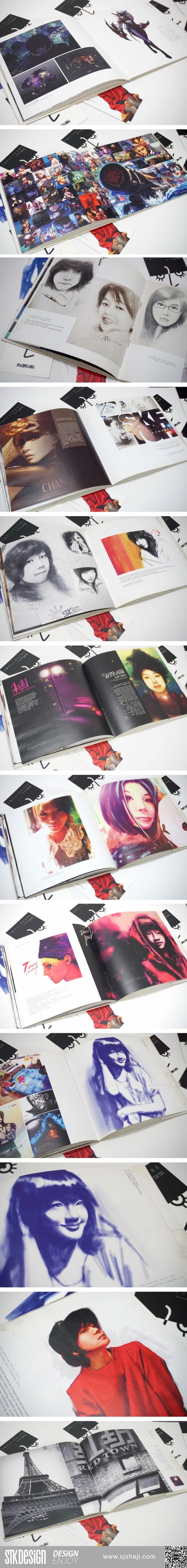 小束负作品集画册设计