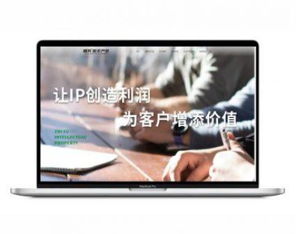 广州智斧知识产权网页设计