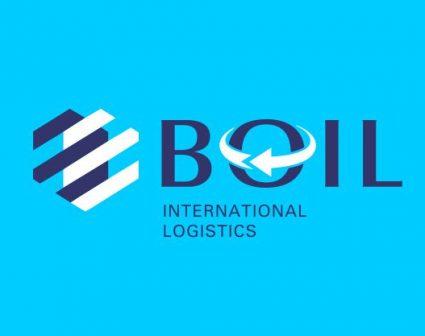 BOIL蓝海国际物流标志设计