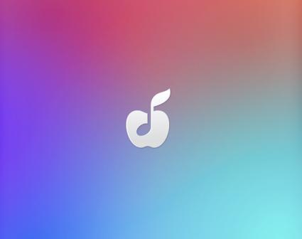 苹果音乐LOGO设计