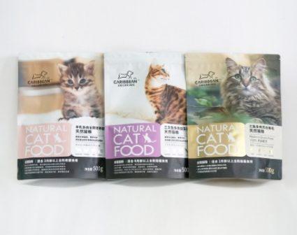 加勒比猫粮系列包装设计